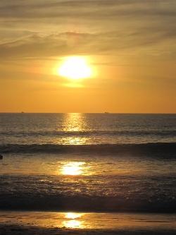 Sunset on Kata Noi Beach