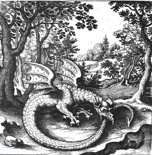 The ancient symbol Ouroboros
