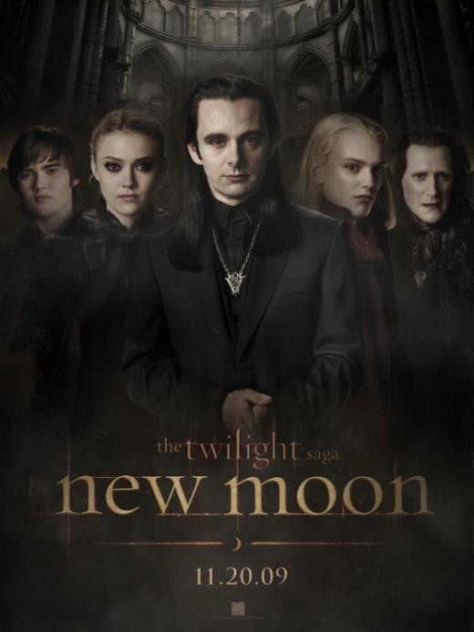 Volturi: Alec (Cameron Bright), Jane (Dakota Fanning), Aro (Michael Sheen), Caius (Jamie Campbell Bower), Marcus (Christopher Heyerdahl)