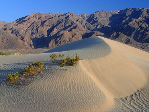 The Death Valley in California, USA