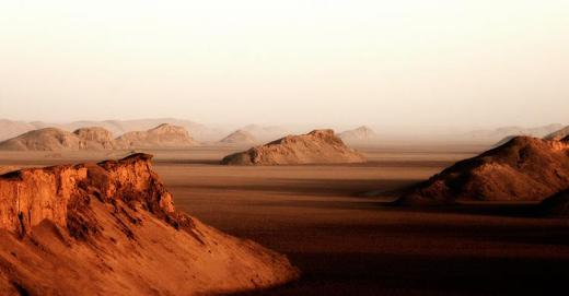 Lut Desert (Iran) is hottest place on Earth