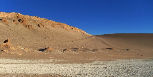 The Atacama is the world's driest desert