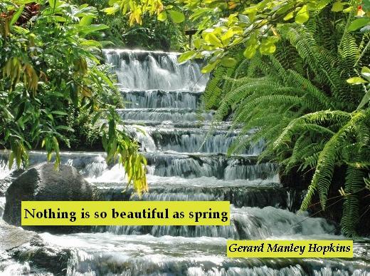 Nothing is so beautiful as spring - Gerard Manley Hopkins