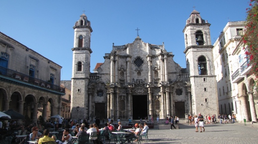 The Catedral de San Cristobal de La Havana