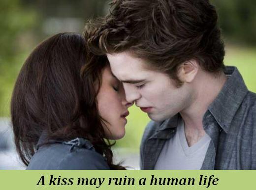 A kiss may ruin a human life