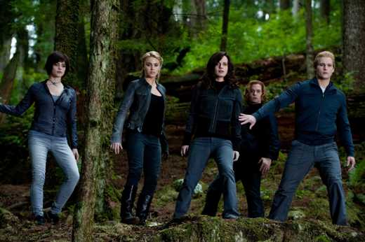 ASHLEY GREENE, NIKKI REED, ELIZABETH REASER, JACKSON RATHBONE and PETER FACINELLI star in THE TWILIGHT SAGA ECLIPSE