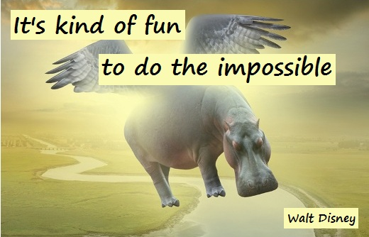 It's kind of fun to do the impossible. (Walt Disney)